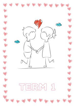 Term Title Page - Couple In Love - Term 1