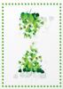Back Cover - Green Leaves
