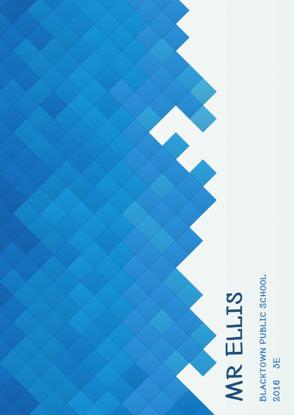 Front Cover - Little Blue Squares