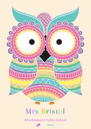 Front Cover - Lots of Owls