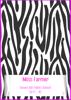Front Cover - Zebra