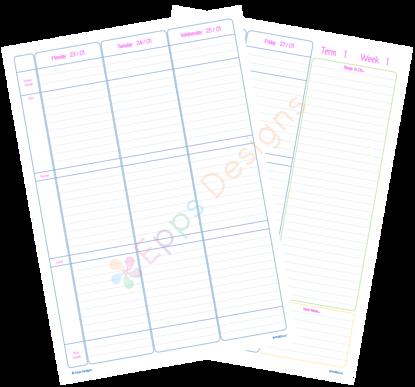 10-Weekly Planner [Primary School]