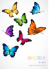 Front Cover - Colourful Butterflies