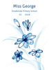Front Cover - Blue Daisies