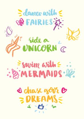 Four Unicorn Quotes - Term 1