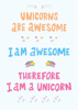 Four Unicorn Quotes - Term 3