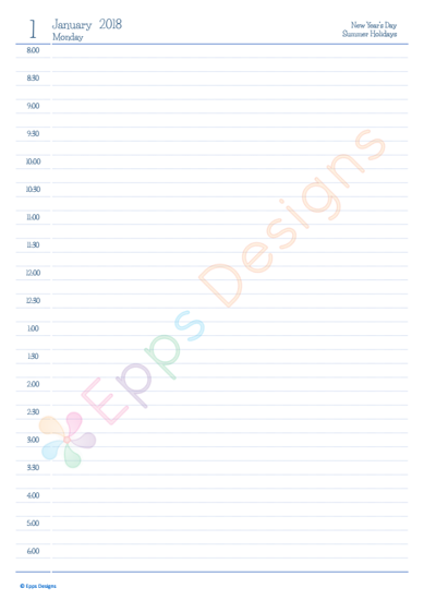 10-Yearly Planner - Day 1