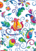 Back Cover - Bright Whimsical Flowers 2