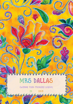 Front Cover - Bright Whimsical Flowers 5