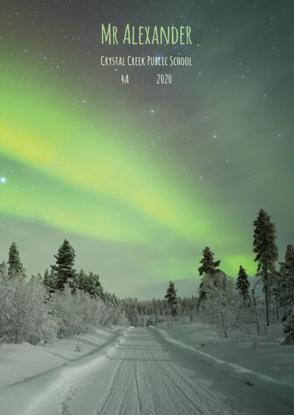 Aurora Borealis - Front Cover