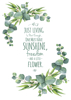 Inspirational Quote - Eucalyptus Quotes