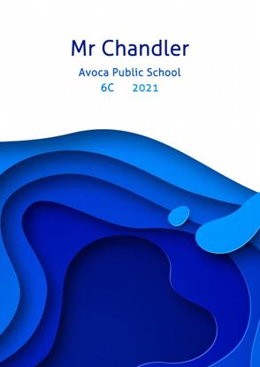 Front Cover - Paper Cut - Blue