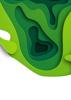 Back Cover - Paper Cut - Green