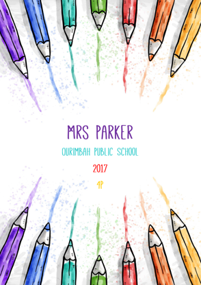 Front Cover - Colourful Pencils
