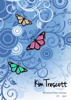 Front Cover - Butterflies With Blue Swirls
