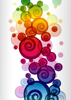 Back Cover - Colourful Swirls