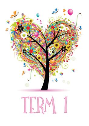 Four Seasons Tree Hearts - Term 1