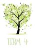 Four Seasons Tree Hearts - Term 4