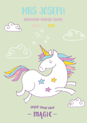 Front Cover - Unicorn 1