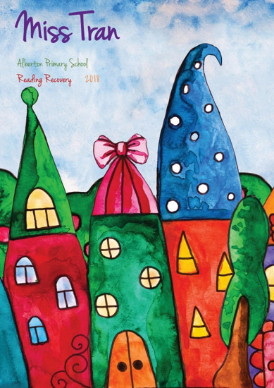 Front Cover - Whimsical Houses