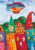 Back Cover - Whimsical Houses