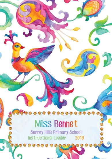 Front Cover - Bright Whimsical Flowers 3