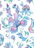 Back Cover - Bright Whimsical Flowers 4